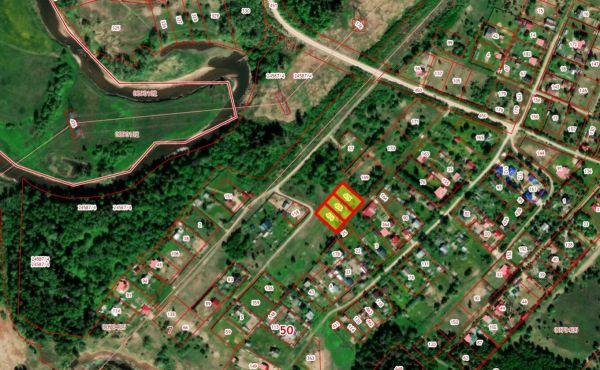 Участок 8,3 сотки под строительство жилого дома в деревне Лазарево